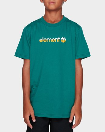 0 BOYS YOUTH HORIZONTAL SHORT SLEEVE TEE Green 383001 Element