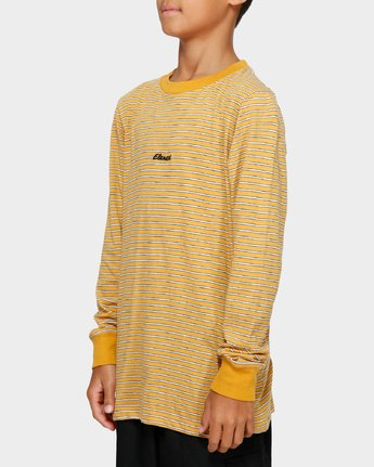 2 YOUTH GRIND STRIPE LS TEE Yellow 393051 Element