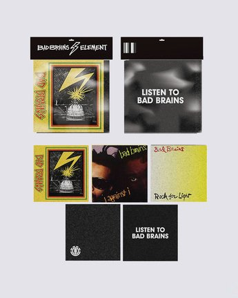 BAD BRAINS ALBUM PACK  ACGT3BGP