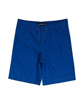 0 Boys' Vacation Short Blue ALBWS00101 Element