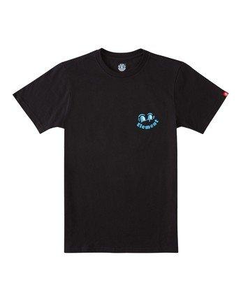 1 Boys' Waller T-Shirt Blue ALBZT00111 Element