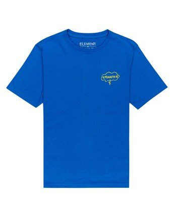 1 Youth Peanuts x Element Slide T-Shirt Blue ALBZT00133 Element