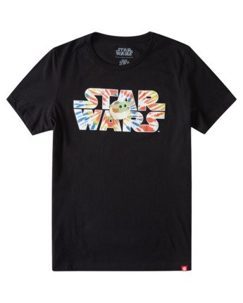 2 Women's Star Wars™ x Element Tie Dye T-Shirt Blue ALJZT00139 Element
