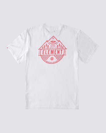 1 Howerton T-Shirt White ALMZT00116 Element
