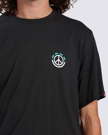 4 Onslow T-Shirt Blue ALMZT00117 Element