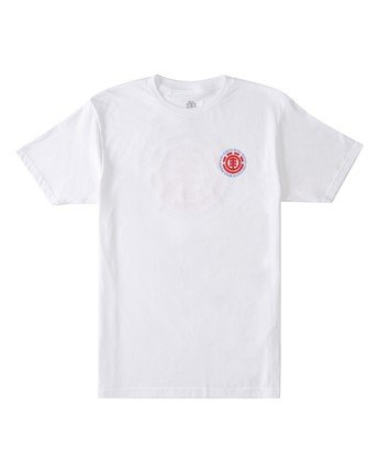 0 Seal T-Shirt White ALMZT00132 Element