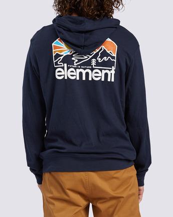3 Sunnett Hoodie Blue ALYFT00108 Element