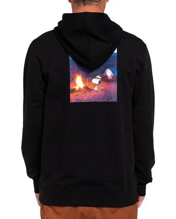 0 Peanuts x Element Adventure Hoodie Blue ALYFT00115 Element
