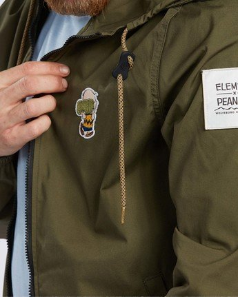 4 Peanuts x Element Alder Jacket Beige ALYJK00109 Element