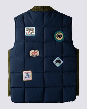 1 Fishing Down Vest Blue ALYJK00125 Element