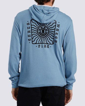 2 Ridge Art Hoodie Blue ALYKT00100 Element