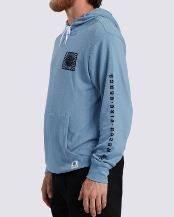 1 Ridge Art Hoodie Blue ALYKT00100 Element