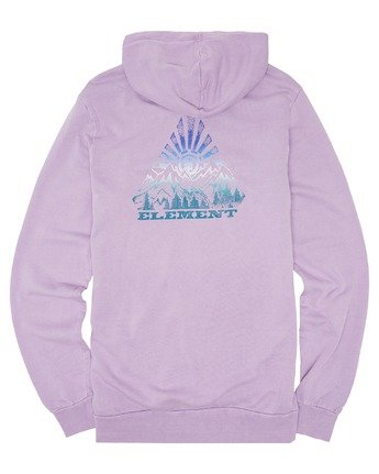 3 Longley Pigment Hoodie Purple ALYSF00100 Element