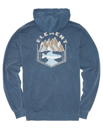 3 Sora Pigment Hoodie Blue ALYSF00102 Element