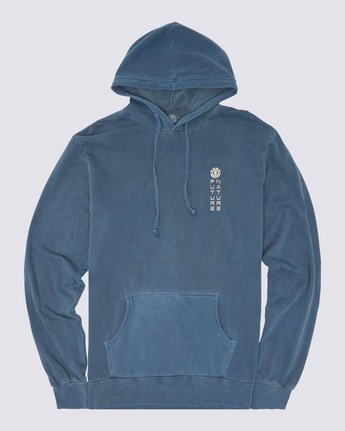 0 Sora Pigment Hoodie Blue ALYSF00102 Element