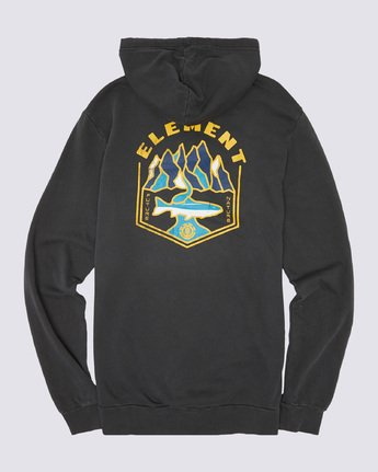 1 Sora Pigment Hoodie Blue ALYSF00102 Element