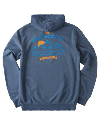 3 Snow Pigment Hoodie Blue ALYSF00135 Element