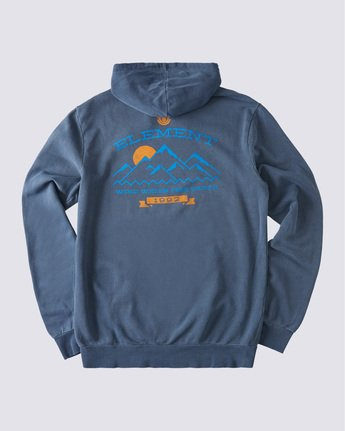 1 Snow Pigment Hoodie Blue ALYSF00135 Element