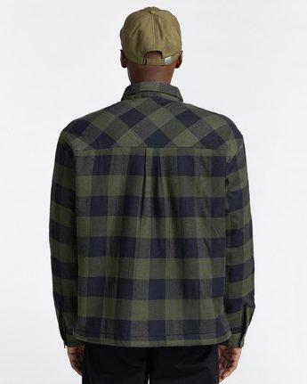 6 Mappleville Buffalo Flannel Jacket  ALYWT00119 Element