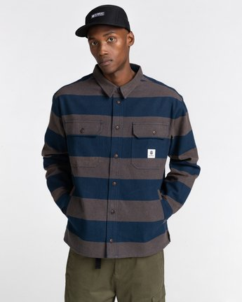 1 Wentworth Stripes Flannel Shirt  ALYWT00125 Element