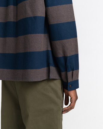 4 Wentworth Stripes Flannel Shirt  ALYWT00125 Element