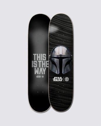 3 Star Wars™ Beskar Skateboard Deck  ALYXD00169 Element
