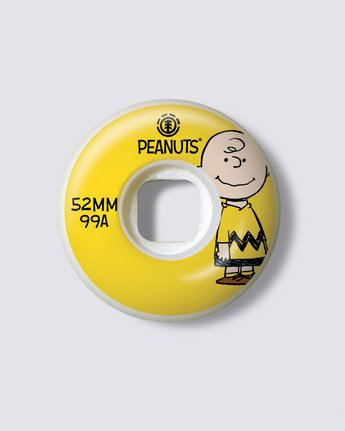 1 Peanuts x Element Squad 52MM Wheels Multicolor ALYXE00102 Element