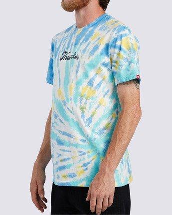 2 Thanks Wash T-Shirt Blue ALYZT00103 Element