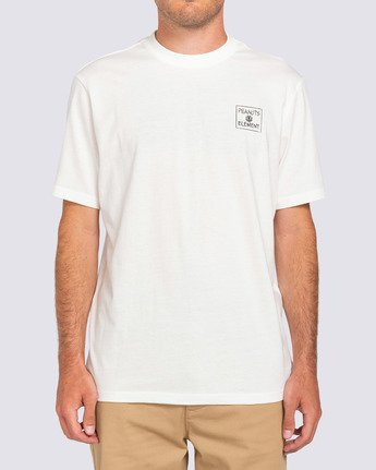 3 Peanuts x Element Page T-Shirt White ALYZT00123 Element