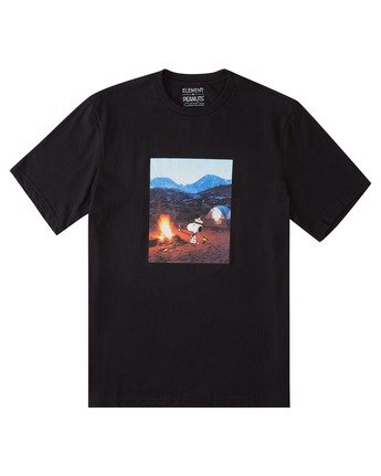 0 Peanuts x Element Adventure T-Shirt Blue ALYZT00161 Element