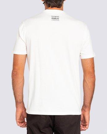 3 Peanuts x Element Adventure T-Shirt White ALYZT00161 Element