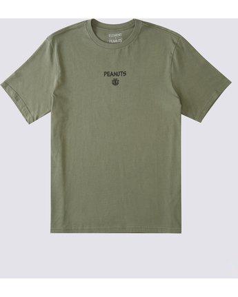 1 Peanuts x Element Kruzer T-Shirt Beige ALYZT00162 Element