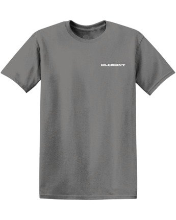2 Longley Pigment T-Shirt Grey ALYZT00166 Element