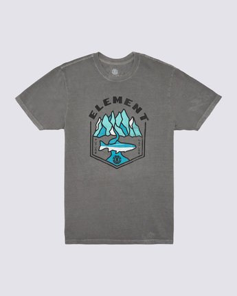 0 Sora Pigment T-Shirt Grey ALYZT00168 Element