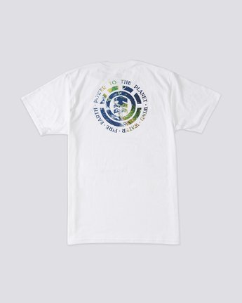 3 Seal Planet T-Shirt White ALYZT00183 Element