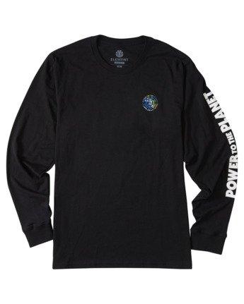 4 Mottilaa Planet Long Sleeve T-Shirt Blue ALYZT00186 Element