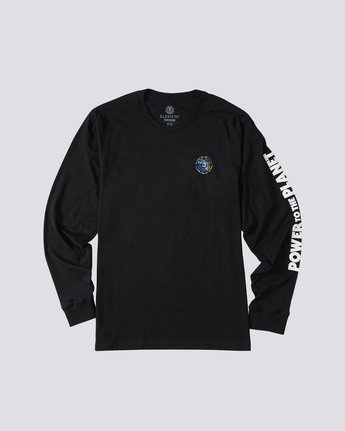 0 Mottilaa Planet Long Sleeve T-Shirt Blue ALYZT00186 Element