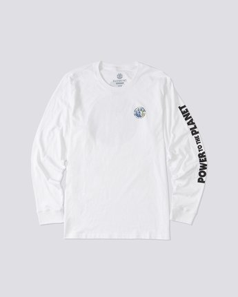 0 Mottilaa Planet Long Sleeve T-Shirt White ALYZT00186 Element