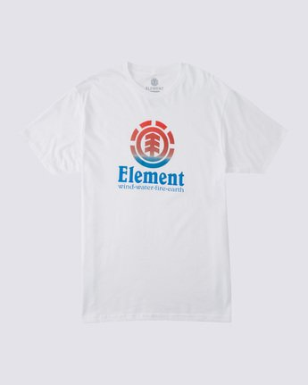 0 Vertical Fade T-Shirt White ALYZT00232 Element