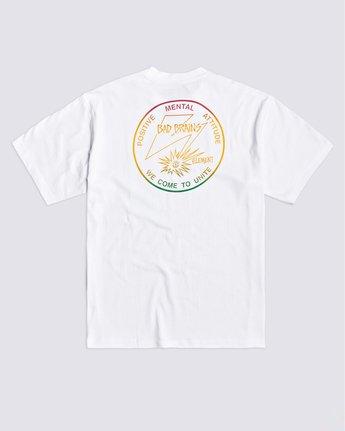 1 PMA Fade T-Shirt White ALYZT00335 Element