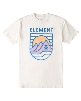 2 Hillsboro Pigment T-Shirt White ALYZT00349 Element