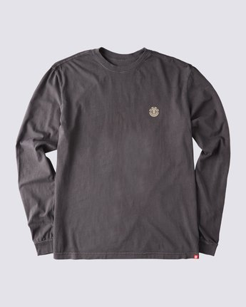 3 Peak Pigment Long Sleeve T-Shirt Blue ALYZT00355 Element