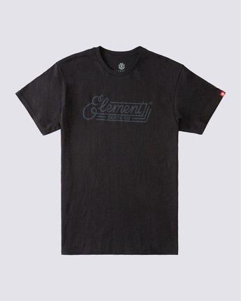 0 Wall Bank T-Shirt Blue ALYZT00358 Element