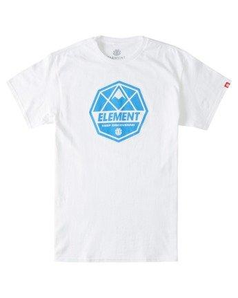 2 Whysler T-Shirt White ALYZT00359 Element
