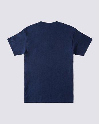 1 Whysler T-Shirt Blue ALYZT00359 Element