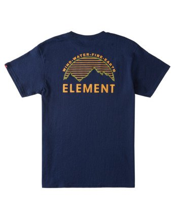 3 Lone Pine T-Shirt Blue ALYZT00361 Element