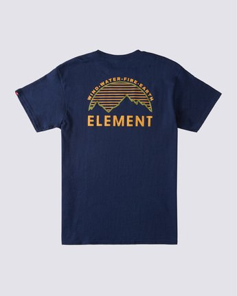 1 Lone Pine T-Shirt Blue ALYZT00361 Element