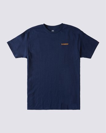 0 Lone Pine T-Shirt Blue ALYZT00361 Element