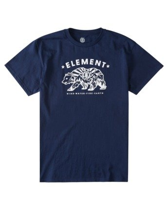 2 Dantonz T-Shirt Blue ALYZT00363 Element