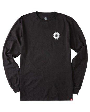 2 Apotho Long Sleeve T-Shirt Blue ALYZT00365 Element
